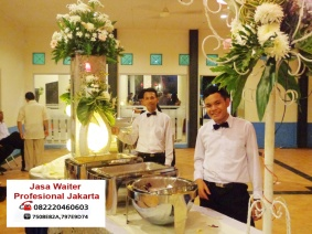 Jasa Waiter Pramusaji Profesional Jakarta
